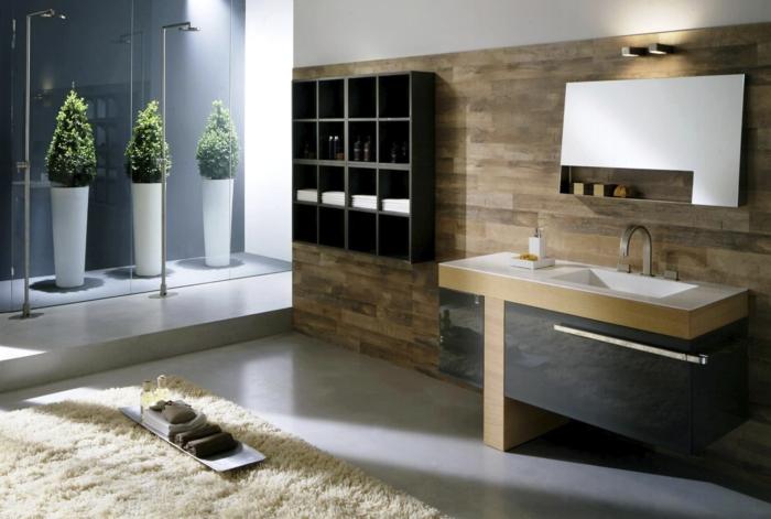 le-carrelage-salle-de-bains-beauté-et-confort-zen-arbres-douche-vasque-carré