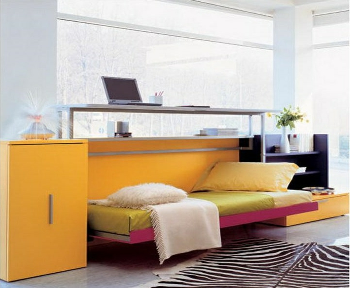 Solution lit petit espace cheap amazing petite cuisine - Solution lit petit espace ...