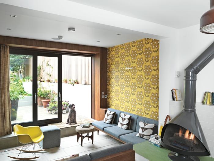 le-papier-peint-salon-design-papier-peint-trompe-l-oei-vintage-cool