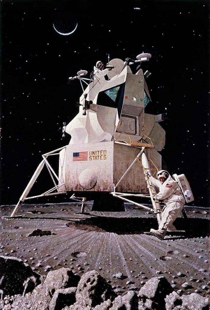 le premier pas sur la lune  une v u00e9rit u00e9 ou une illusion