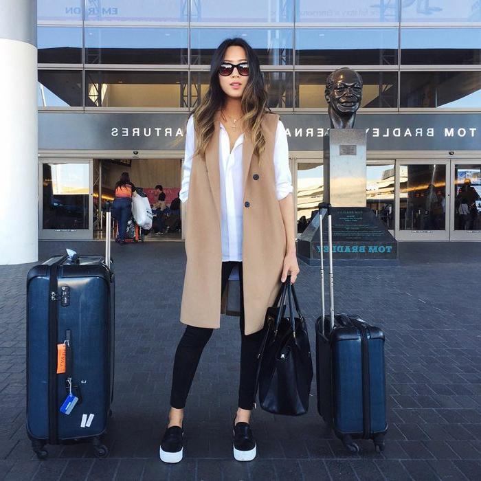 le-veste-militaire-femme-tenue-chic-femme-tenue-hiver-2014-aéroport