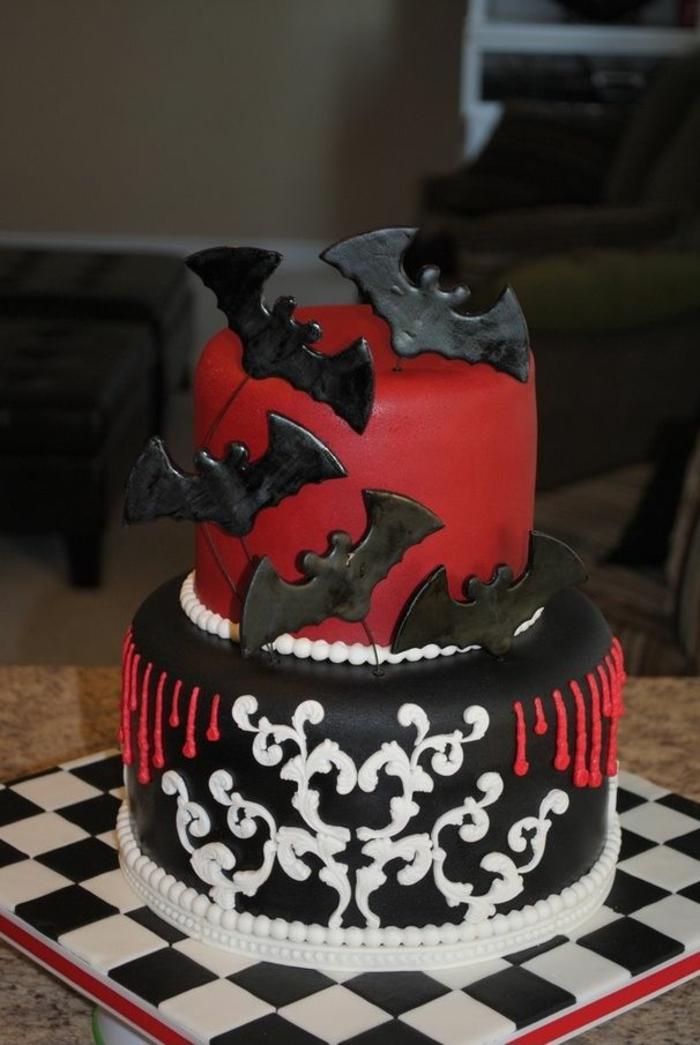 les-gâteaux-halloween-gateau-halloween-facile-en-rouge-et-noir