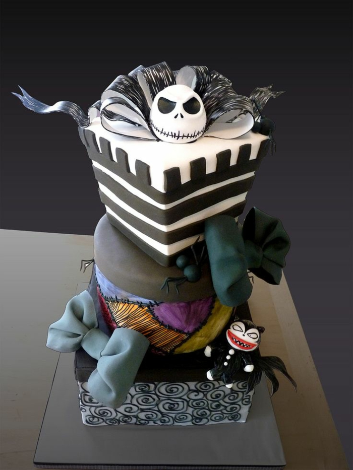 les-gâteaux-halloween-gateau-halloween-nightmares-before-christmas