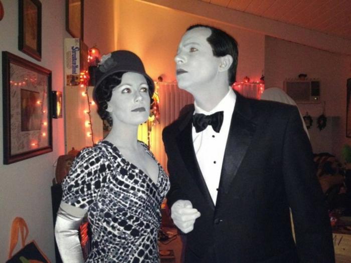 les-meilleurs-coutumes-pour-Halloween-idée-déguisement-bal-film-noir-et-blanc