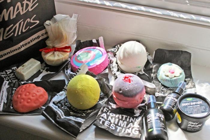les-produits-lush-boule-de-bain-parfumé-différent-idées