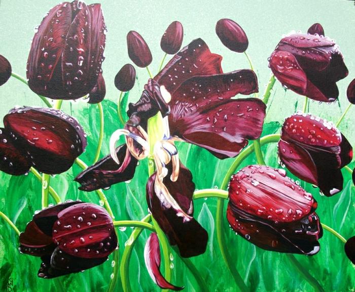 magnolia-tulipe-noire-nature-peleuse-image-de-tulipe-peinture-nature-mort