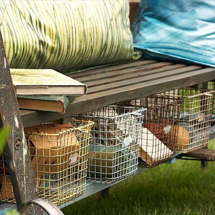 Le banc coffre de jardin belles id es pour votre jardin for Banc de jardin en bois pas cher