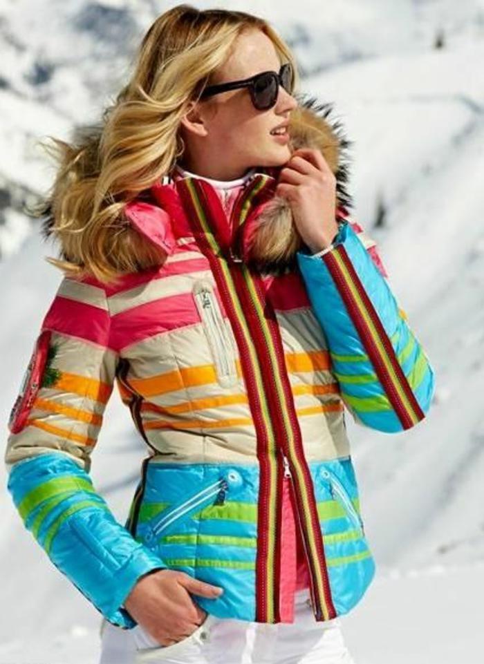 Colore Ski Colore Femme Femme Ski Colore Ski Femme Blouson Blouson Blouson Blouson qXwwxtBP