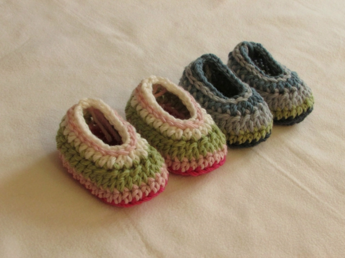 mignon-bébé-pantoufle-enfant-idée-originale-crochet