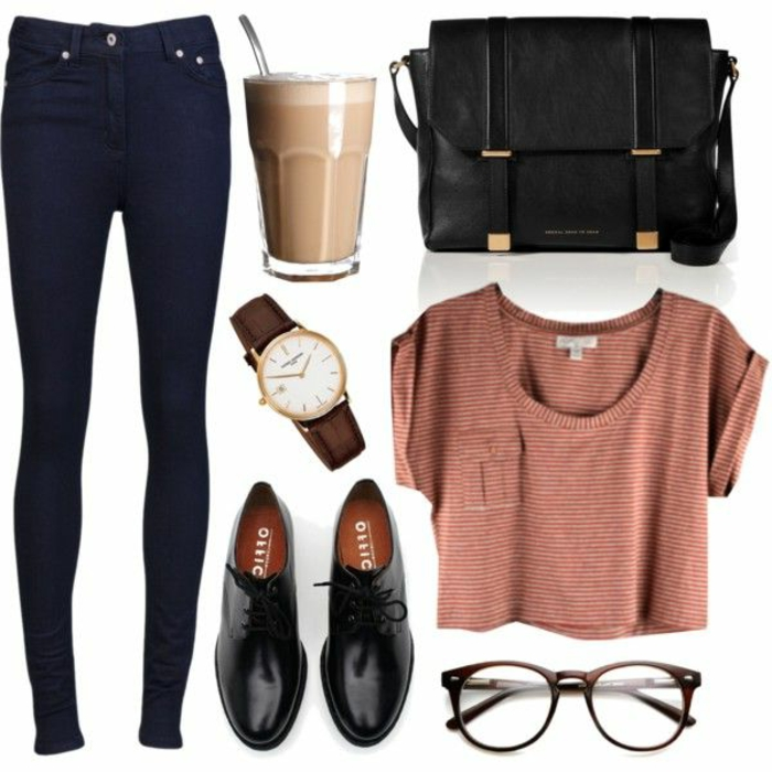 mode-hipster-femme-stylée-lunettes-hipster-cool