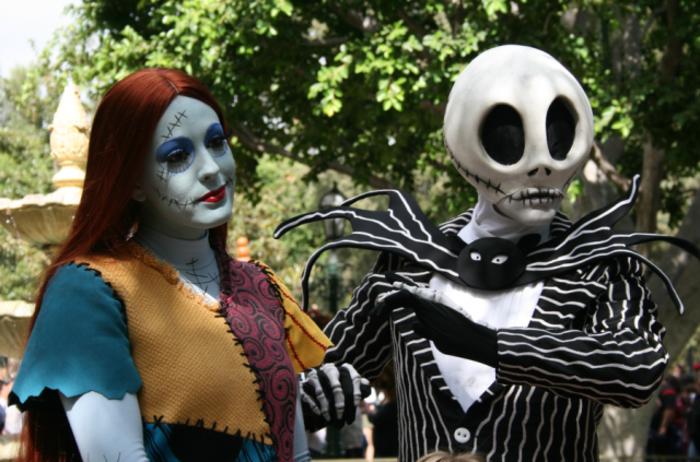 originale-coutume-Halloween-idées-fête-Toussaint-horeur-la-mariee
