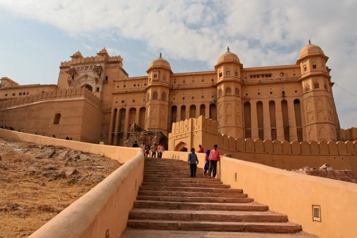 palais-indien-amber-fort-à-Jaipur