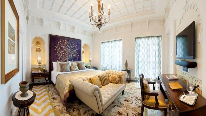 Visiter l 39 inde rester dans un palais indien pour le week for Une chambre en inde reservation