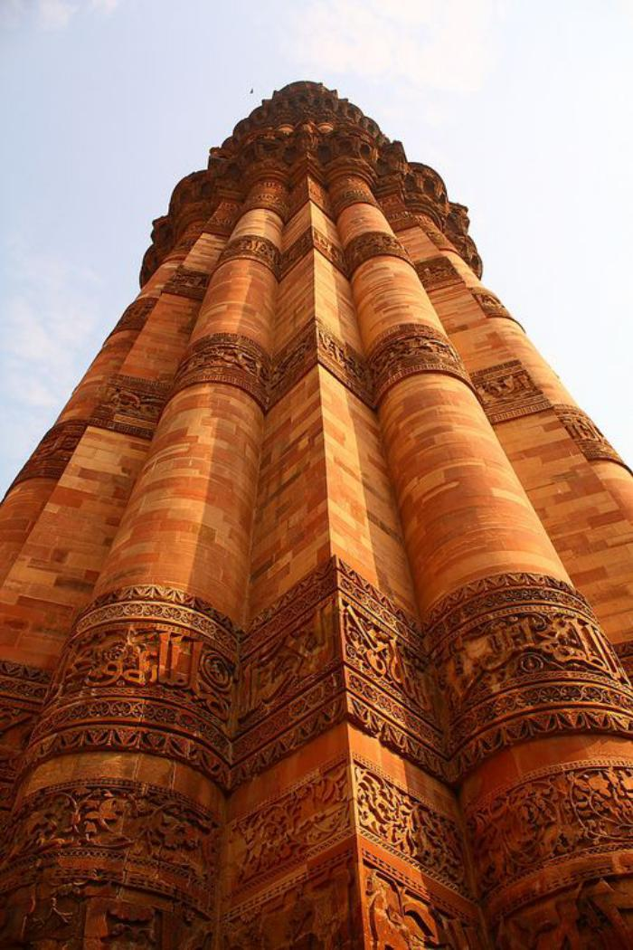 palais-indien-détail-de-l'architecture-d'un-grand-fort