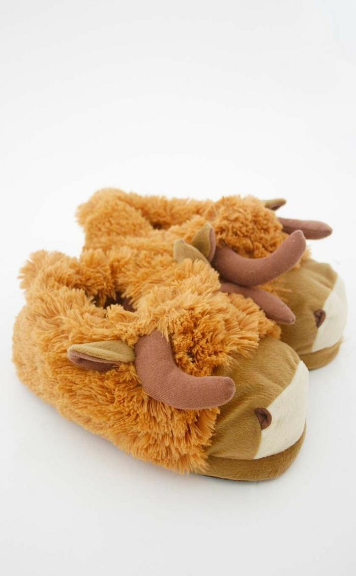 pantoufle-bebe-chaussures-enfant-pantoufle-enfant-bison