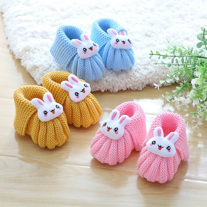 pantoufle-enfants-chausson-bébé-pantoufle-bébé-heureuses