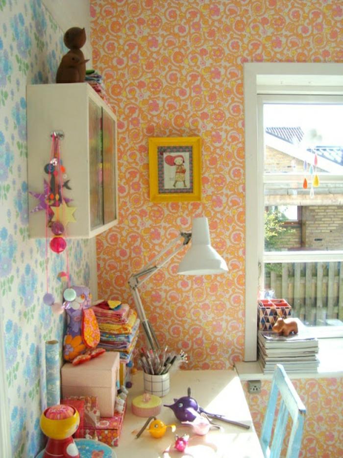 Papier peint chambre moderne pour les chambres papier for Papier peint chambre moderne