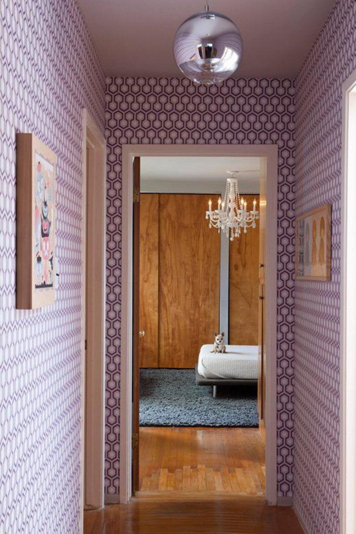 Choisir un papier peint de couloir original - Papier peint couloir ...