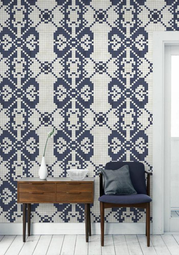 Choisir un papier peint de couloir original - Creer son papier peint ...