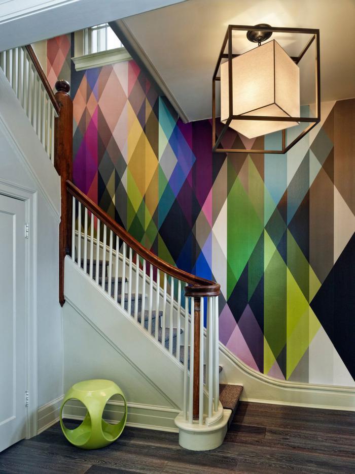 papier-peint-de-couloir-magnifique-teintes-graphiques