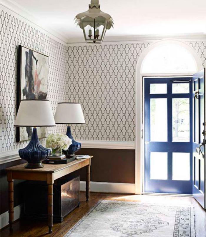 papier-peint-de-couloir-motifs-baroques