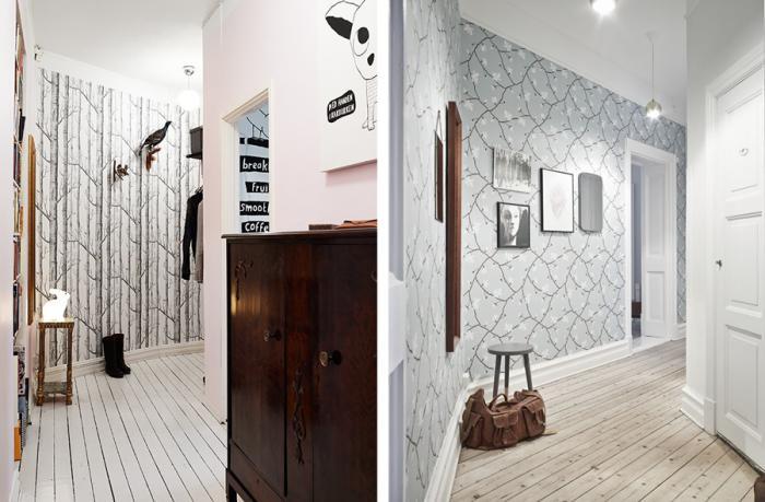 papier-peint-de-couloir-tapisserei-de-couloir-appartement-scandinave