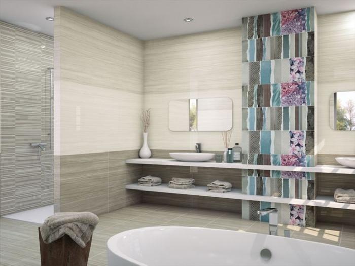 Le carrelage salle de bain quelles sont les meilleures for Peindre du marbre salle de bain