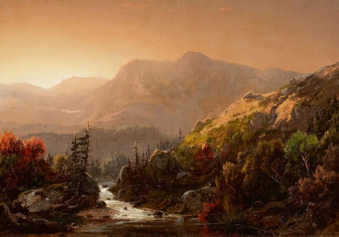 peinture-autumne-montagne-landscape-desktop-idée-tableau-jolie