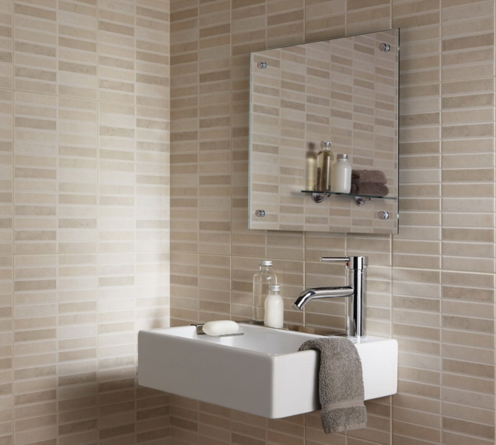Le carrelage salle de bain quelles sont les meilleures for Idee de carrelage pour salle de bain
