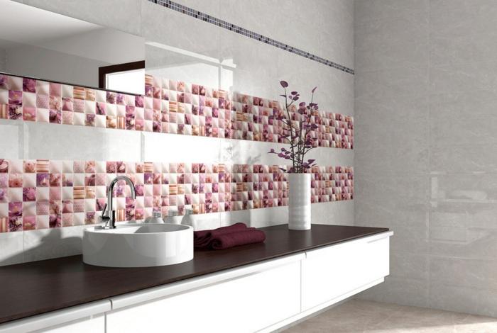 peinture-pour-carrelage-salle-de-bain-idée-originale-vasque-ronde
