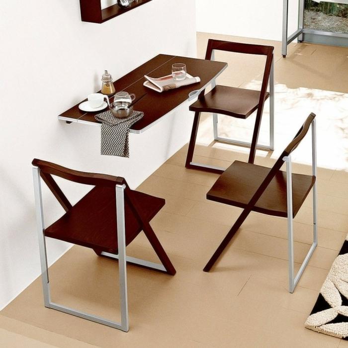 petite-table-de-cuisine-pliante-aménagement-petit-espace-coin-manger