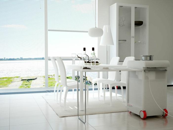 La table de cuisine pliante 50 id es pour sauver d 39 espace for Petite table de cuisine