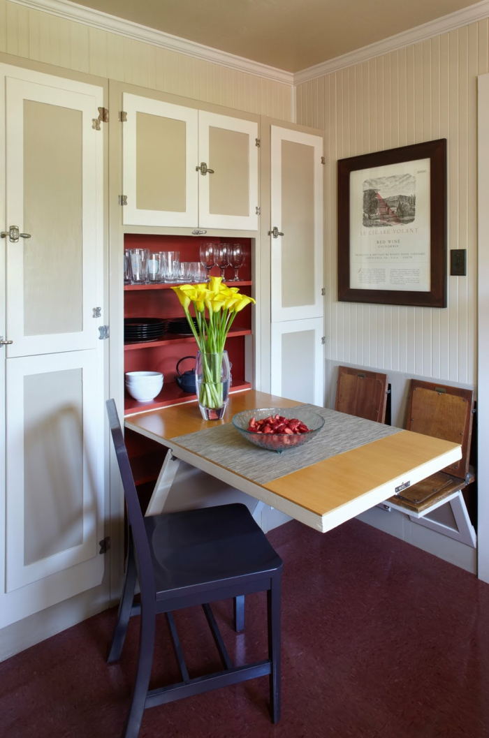 petite-table-pliante-cuisine-conforama-salle-à-manger-chaises-idée-aménagement