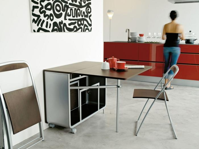 petite-table-pliante-cuisine-conforama-salle-à-manger-chaises-moderne