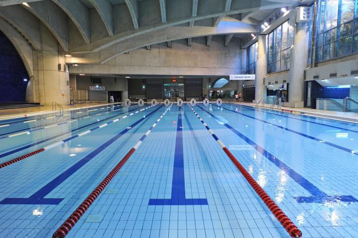 En recherche du meilleur bassin du type piscine olympique - Archzine.fr