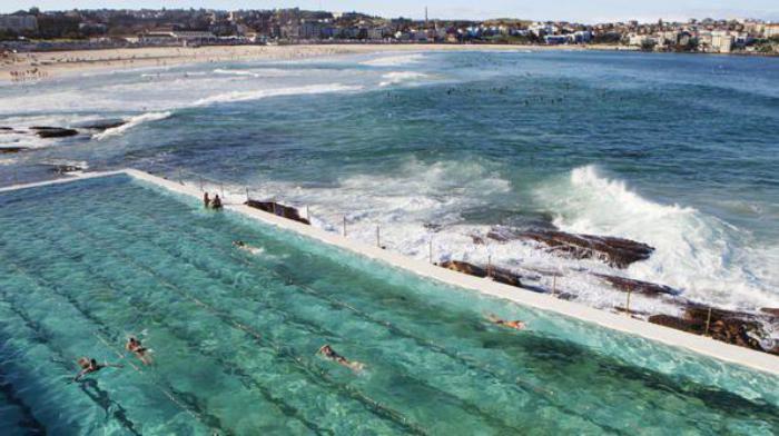 piscine-olympique-à-la-plage-Bondi-Australie