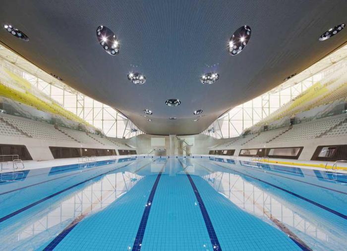 piscine-olympique-centre-aquatique-à-Londres