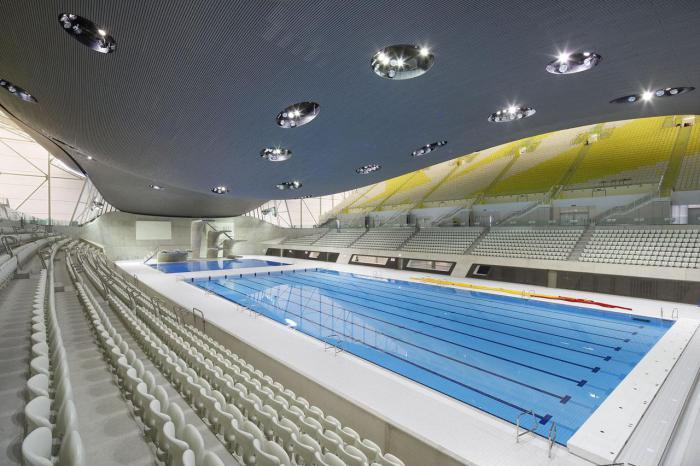 piscine-olympique-jolie-construction-pour-un-centre-de-sport-Londres