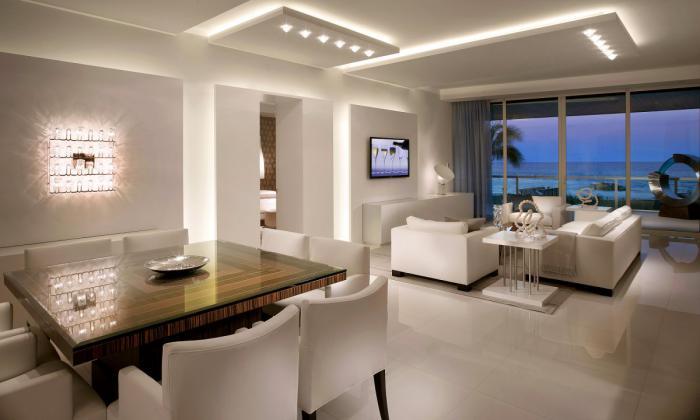 plafond-lumineux-appartement-charmant-joliment-éclairé