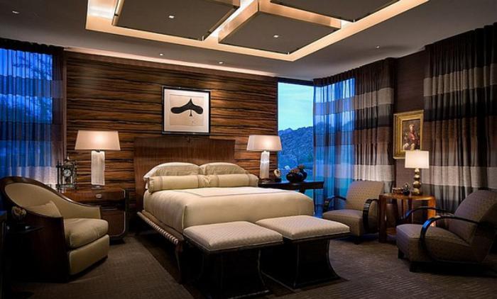 plafond-lumineux-chambre-à-coucher-plafond-suspendu