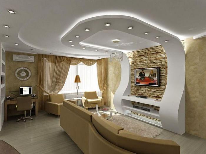Beliebt Le plafond lumineux - jolis designs de faux plafonds et d  LW62
