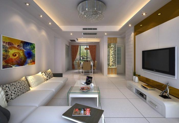 plafond-lumineux-design-de-plafond-tendu-belle-salle-de-séjour