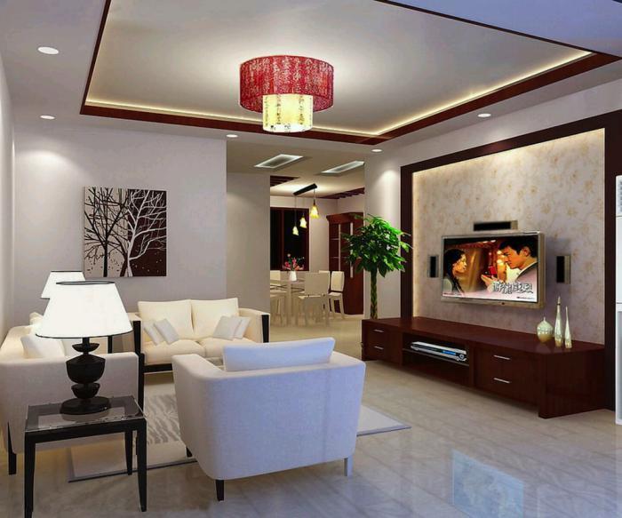 plafond-lumineux-design-salle-de-séjour-épurée