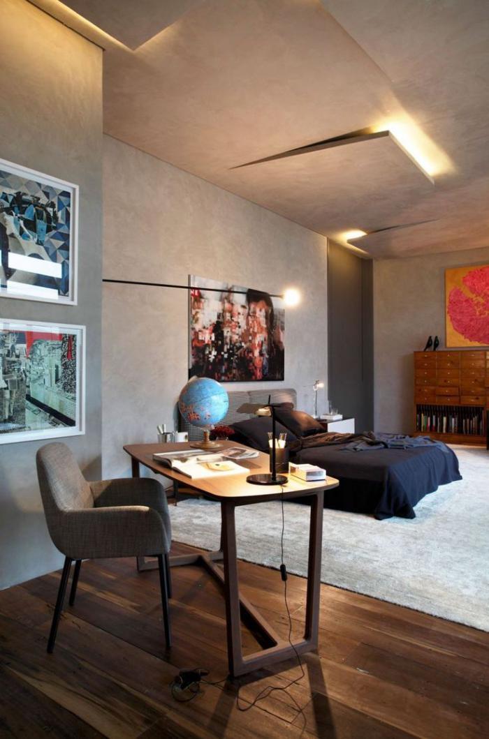 plafond-lumineux-lumière-indirecte-faux-plafond-moderne