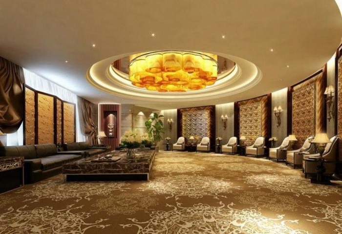 Le plafond lumineux - jolis designs de faux plafonds et d ...