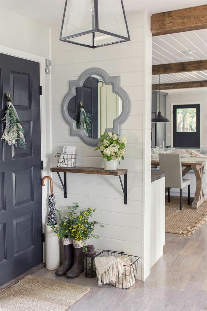 plante-d-intérieur-plante-exotique-intérieur-jolie-decoration-avec-fleurs-miroir-decoratif