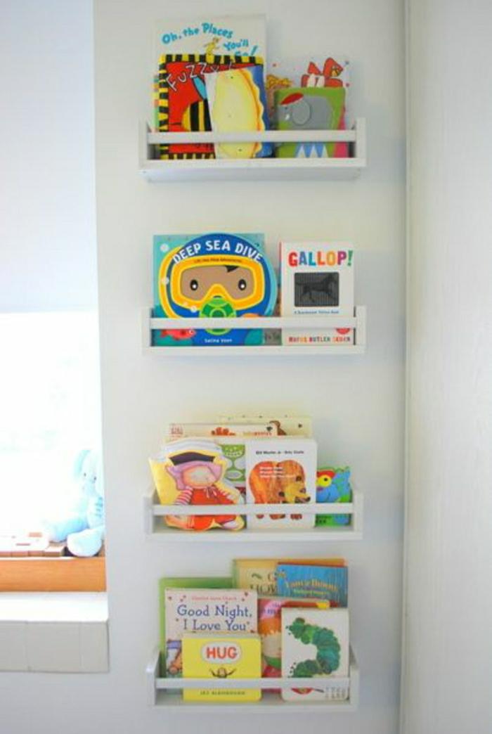 porte-revue-ikea-bois-blanc-comment-decorer-les-murs-ou-poser-les-magasins-chez-vous