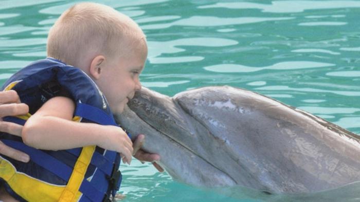 réaliser-son-rêve-nager-avec-les-dauphins-marineland-bébé-heueux