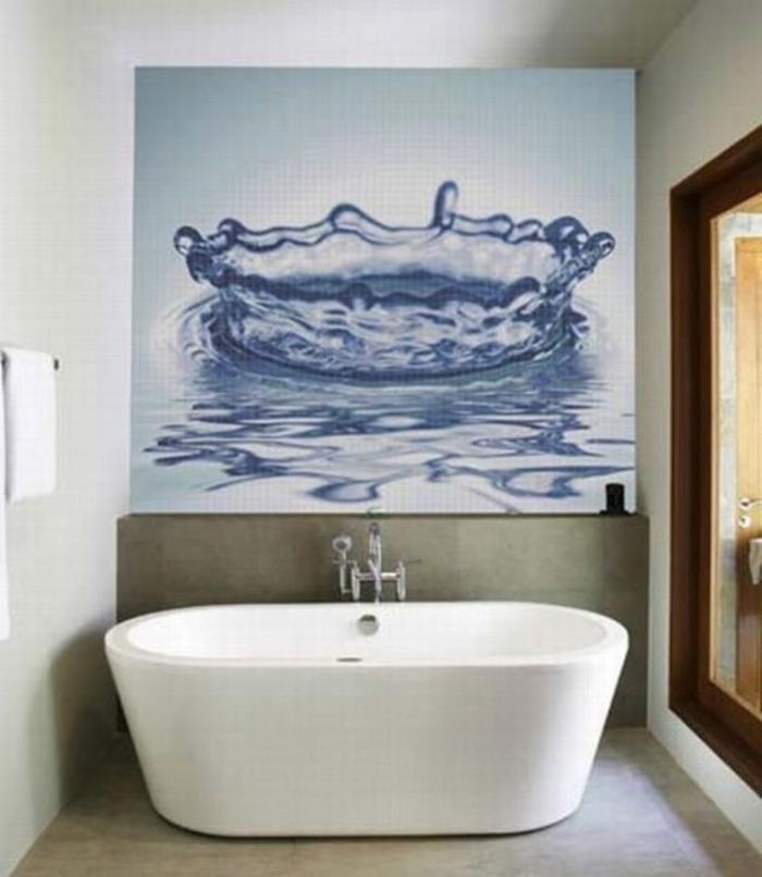 salle-de-bain-carrelage-idée-comment-faire-votre-carrelage-peinture-goute-d-eau