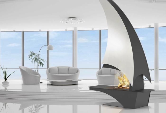 salon-bien-aménagé-salle-de-séjour-cheminée-au-centre-chaleur
